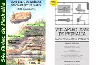 54a edició de l´Aplec de Pedralta i 8a edició de l´Aplec Jove de Pedralta