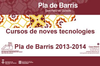 El Pla de Barris organitza cursos de noves tecnologies