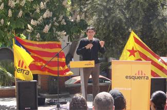 ERC Guíxols commemora l'1 de maig amb una xerrada amb els sindicats i un vermut popular