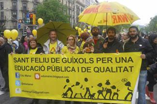 Edu Marxa convoca una manifestació per l'educació pública a Sant Feliu de Guíxols el 9 de maig
