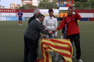 Tribuna Ganxona i ADN Guíxols celebren el final de temporada de l´AD Guíxols amb una entrega de trofeus