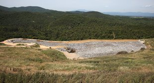 Residus de Solius per fer viable a l'hivern la planta de Lloret