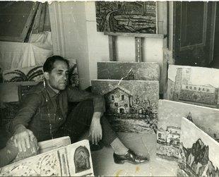 El pintor amb cor de baríton