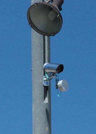 Primera càmera per vigilar els accessos a Santa Cristina d'Aro