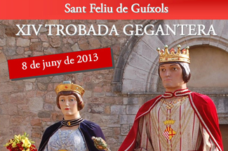 14a trobada gegantera a Sant Feliu de Guíxols