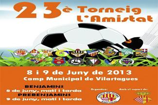 23è Torneig de l´Amistat de l´Escola al Camp Municipal de Vilartagues