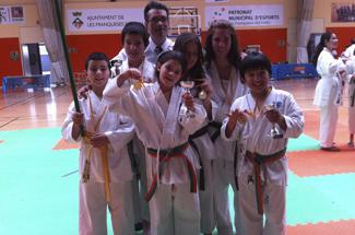 El karate Dojo Sant Feliu participa en el 5e campionat social Trofeu Shiho-Wari
