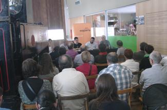 Mes de 50 persones a la xerrada-col·loqui: Litoral, turisme i medi ambient organitzada per ERC Guíxols