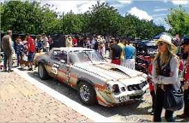 La trobada de cotxes americans de Platja d´Aro acull més de 4.000 persones
