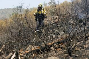 Cremen 1,1 hectàrees de matolls d´una urbanització a Platja d´Aro