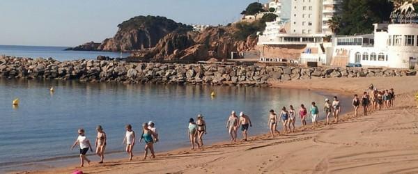 Gimnàstica suau i gratuïta a la platja de SFG