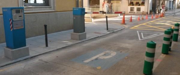 Solució a l'aparcament del mercat