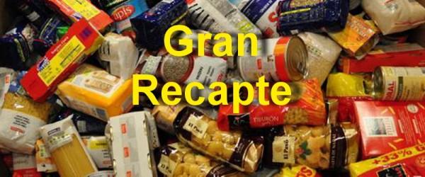AQUEST CAP DE SETMANA, RECAPTE D'ALIMENTS
