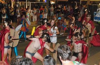 Carnaval amb xancletes