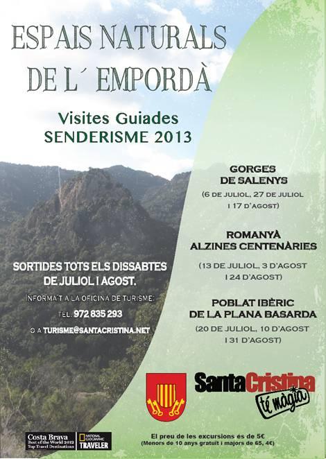 Visites guiades dissabte 13 de juliol a Santa Cristina d'Aro