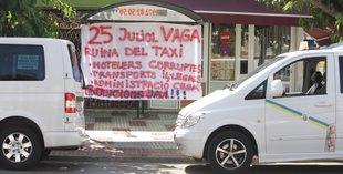 Els taxistes de Platja d'Aro desconvoquen la vaga de nou