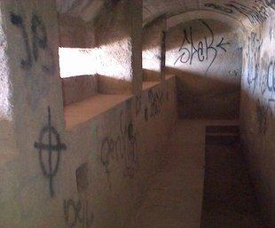 El niu de metralladores de sota el mirador de Sant Feliu es podrà visitar aviat