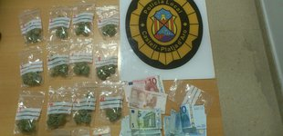 Operatiu policial contra el 'botellón' a Platja d'Aro