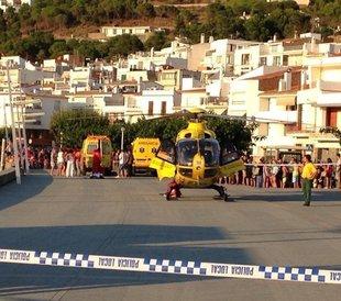 Dos ferits greus més en platges gironines