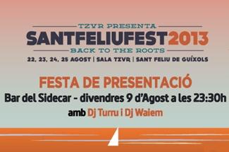 Presentació del Sant Feliu Fest a Barcelona