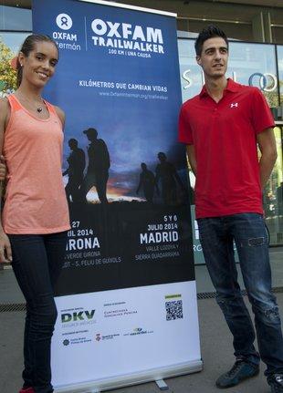 Ona Carbonell i Joel González apadrinen la Trailwalker