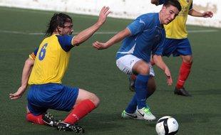 Empat a gols i intensitat entre el Lloret i el Guíxols