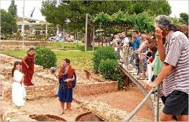 Un miler de visitants participen a les rutes d´estiu de Platja d´Aro