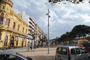 El debat de l'aparcament al passeig retorna a Sant Feliu
