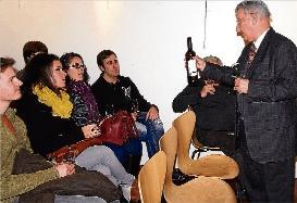 Ensesa descriu la màgia del vi a Santa Cristina