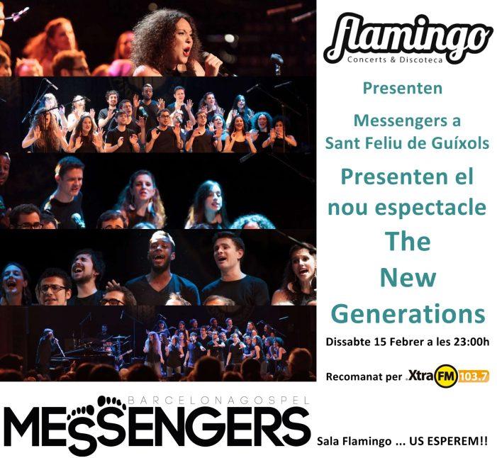 Actuació del Grup de Gospel Messengers a Sant Feliu de Guíxols