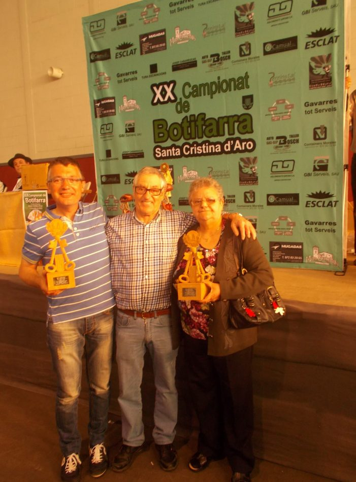 120 parelles al XX Campionat de botifarra de Santa Cristina d'Aro