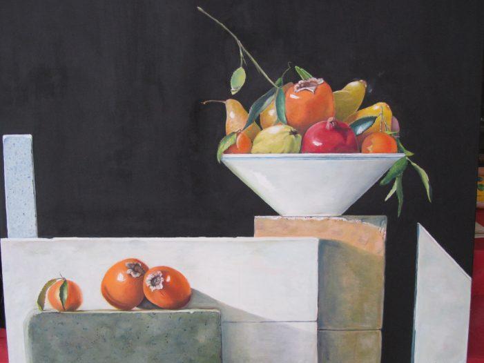 Exposició de pintura de MARIA DAUSSET al Pati de l'Ajuntament