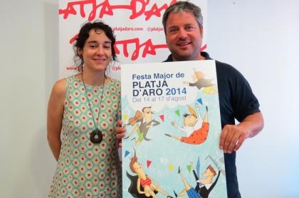 Cartell de la Festa Major de Platja d'Aro 2014
