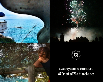 "Guanyadors ""Instagram Your City"" Platja d'Aro"