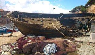 El naufragi artificial a Sant Feliu queda avortat