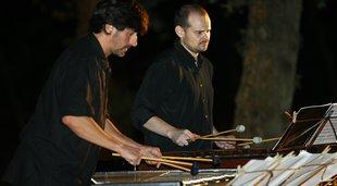 'Homilies d'Organyà', cobla i percussió, a Porta Ferrada