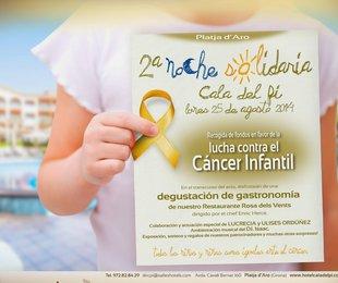 Nit benèfica contra el càncer infantil dilluns a Platja d'Aro