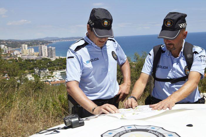 Primer balanç d'estiu de la policia local de Castell-Platja d'Aro