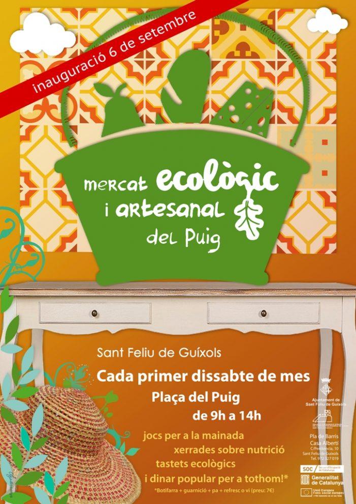 Mercat ecològic i artesanal al Puig, el primer dissabte de cada mes
