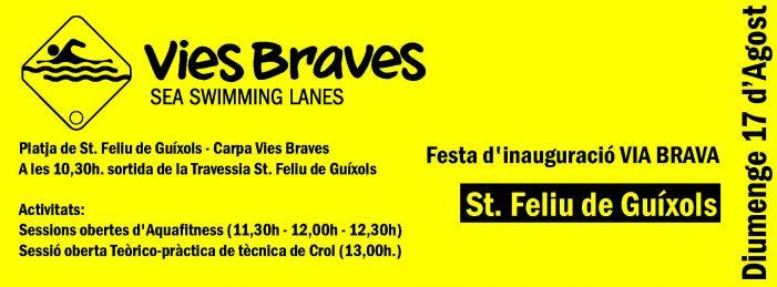 Aquest diumenge, festa d'inauguració Via Brava