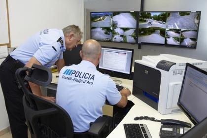 Xarxa de videovigilància a Castell-Platja d'Aro