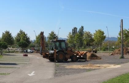 Nou aparcament públic a la Zona dels Estanys