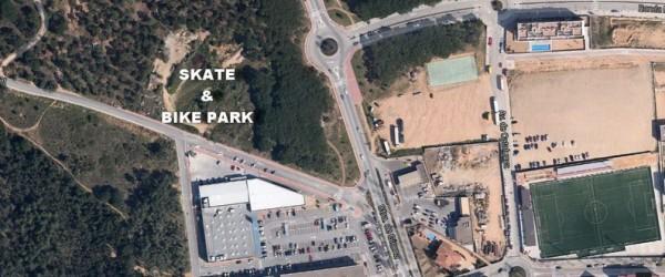PROJECTE D'SKATE-PARK I BIKE-PARK
