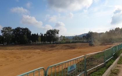 Condicionament de terrenys per a la nova escola