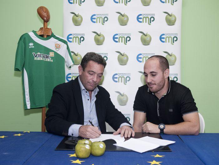 Emprenedors co-patrocinador del futbol sènior a Santa Cristina d'Aro