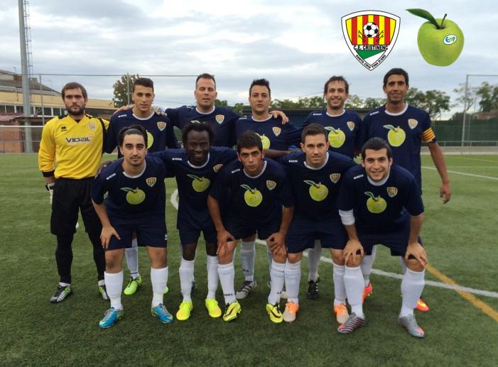 El CE Cristinenc goleja a l' Athletic Maçanet 1- 8