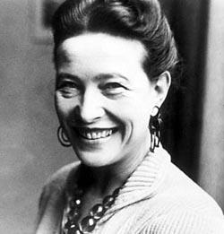 Exposició sobre Simone de Beauvoir