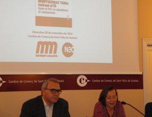 Pere Albó i Júlia Vendrell encapçalaran el Moviment d'Esquerres a Sant Feliu