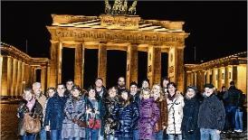 Una delegació de Platja d´Aro coneix la promoció de Berlín