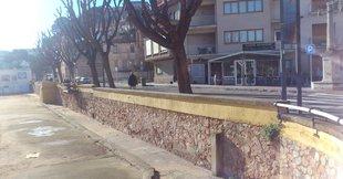 Voladís en projecte a Sant Feliu per ampliar el passeig